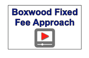 Boxwood video fixed fee approach